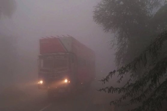 New Year has brought a new wave Fog engulfs major parts of Punjab Lahore ( Azad dunya news ) A dense fog has cloaked Lahore and other major cities in the province, which has affected the lives of commuters during the mornings. To curb road accidents motorway has closed down different intersections. Dense fog has not only affected people commuting via roads, but it has also caused delays in the schedules of trains and commercial flights.